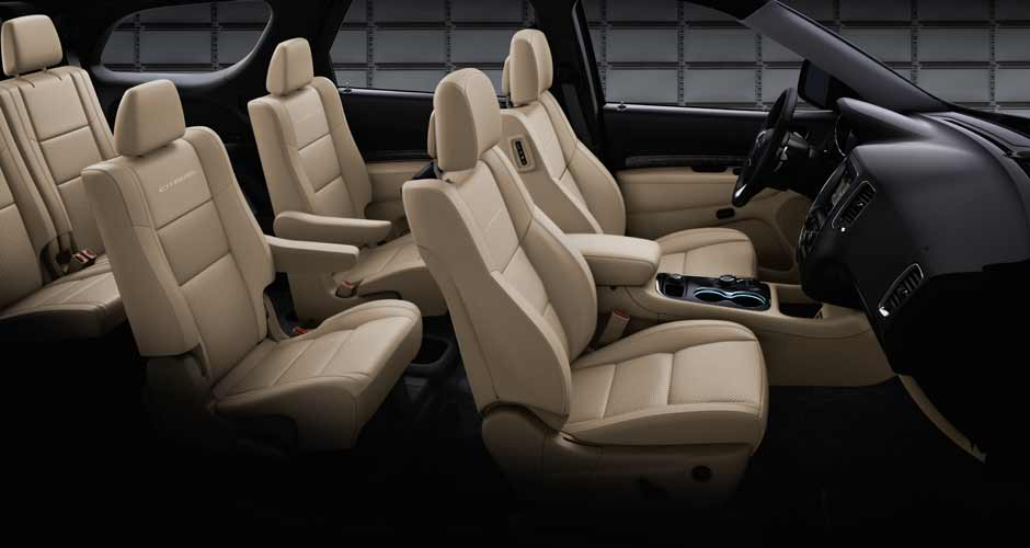 2015 Dodge Durango Interior Seating 2015 dodge durango review  at n-0.co