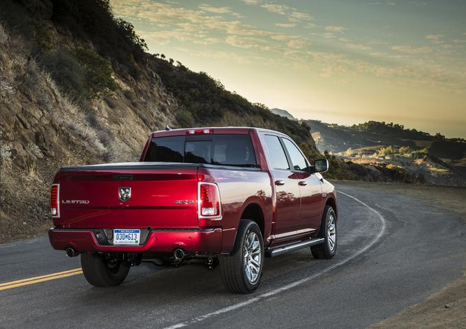 2015 Ram 1500 Laramie Limited Exterior Rear End
