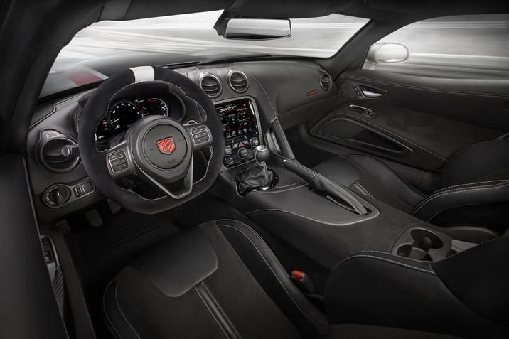 2016 Dodge Viper Interior Dashboard